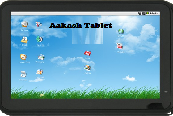 Aakash Tablet India customer care number 14 1